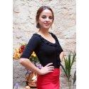 Top Flamenco Mariquilla Black