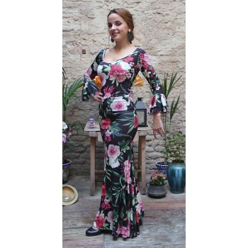 Falda flamenco Alajar estampado flores