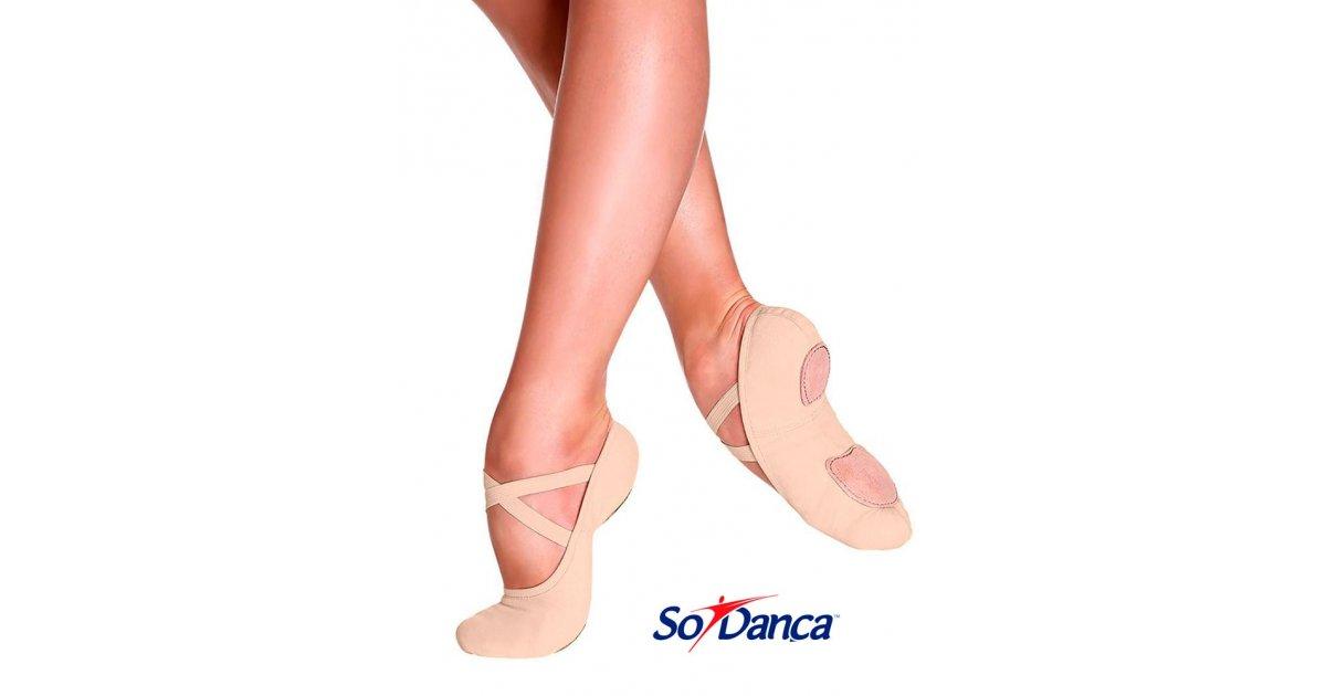Nude Elastic Ballet Shoe
