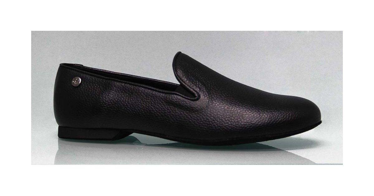 Chaussure homme pour danse de salon cuir noir
