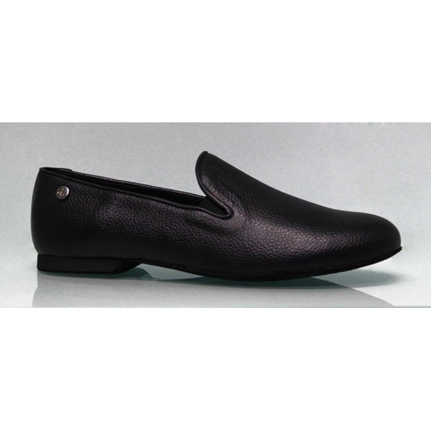 Men's Shoe for Ballroom Dance Leather Black