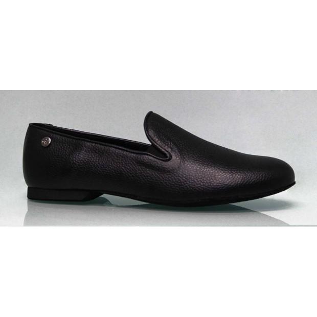 Men's Shoe for Ballroom Dance Leather Black