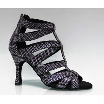 Black Ballroom Dance Shoe