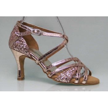 Combined Ballroom Dance Shoes Fantasy and Glitter