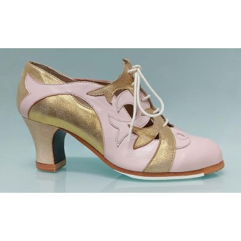 Professional Flamenco Dance Shoe with Laces