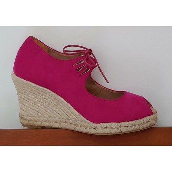Fuchsia Esparto Shoe With...