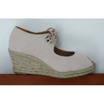 Esparto Beige Sneaker With...