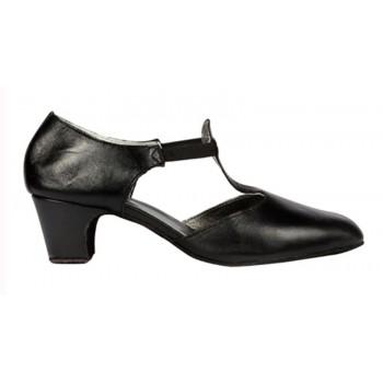 Zapato de Baile Piel Negro...