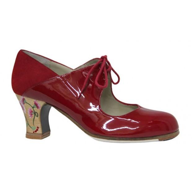 Flamenco dance shoe patent...