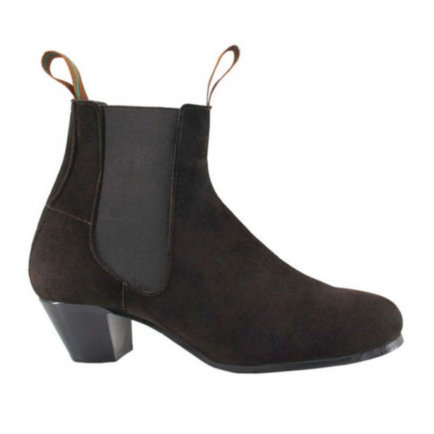 Flamenco Boot Suede Brown...