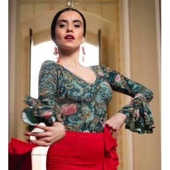 Printed Flamenco Body Cejilla
