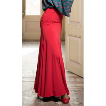 Cala Red Flamenco Skirt...