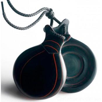 Castanet Black Fiber Double...