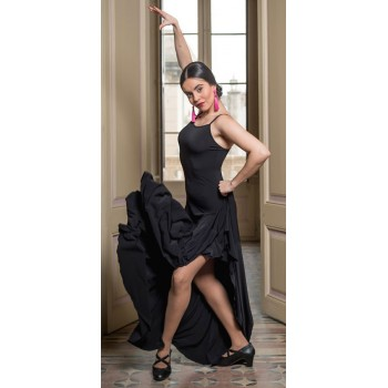 Robe Flamenco Rus Basic Noir