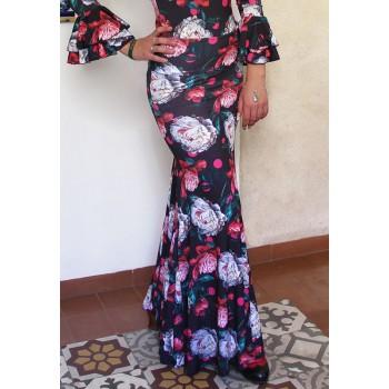 Jupe flamenco Alajar à...
