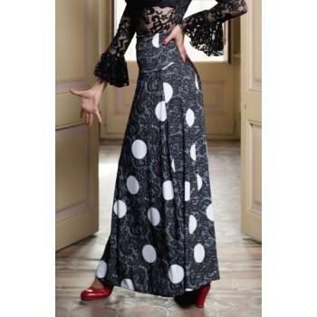 Falda Flamenco Ageri Negro...