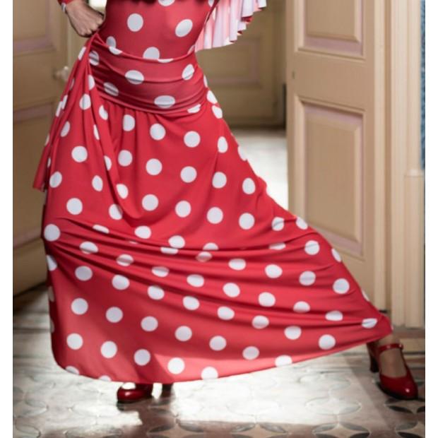 Ageri Flamenco Skirt with...