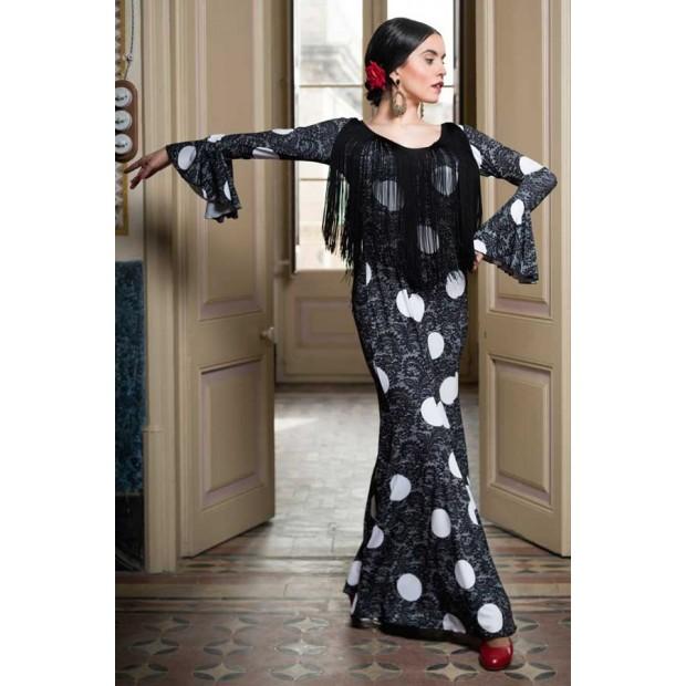 Flamenco Dress Lei Printed