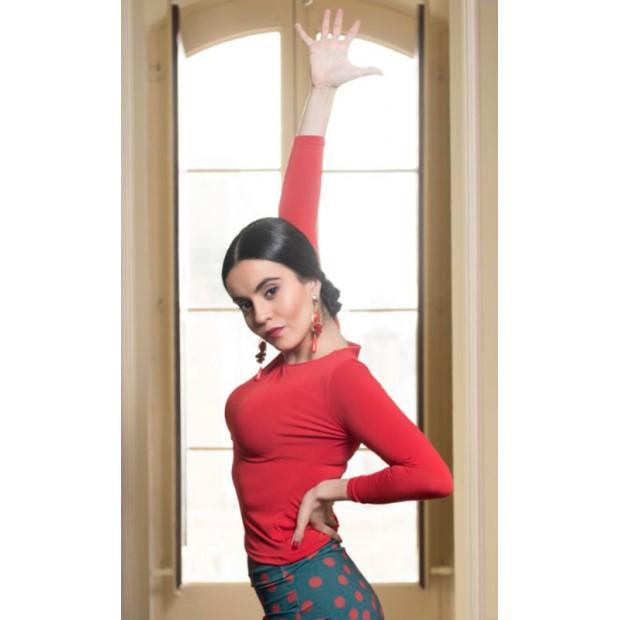 Flamenco Top Lauerz Red