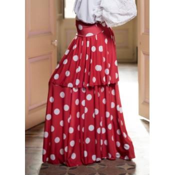 Falda Flamenco Marmorera...
