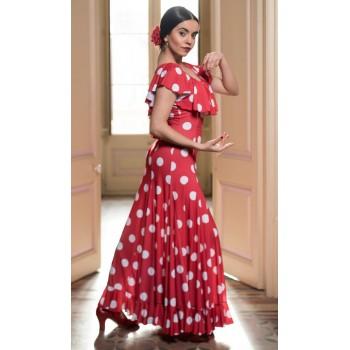 Vestido Flamenco Moiry Rojo...