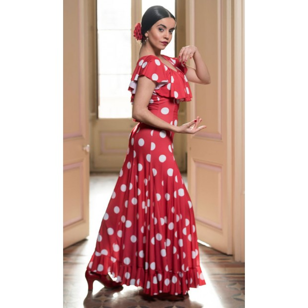 Moiry Flamenco Dress Red...
