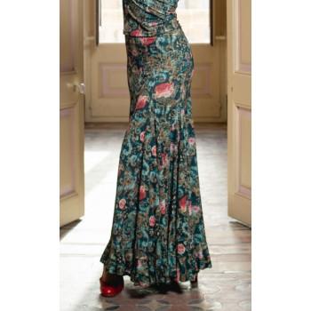 Jupe de flamenco imprimée...