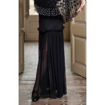 Jupe flamenco Seche Tulle Noir