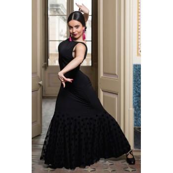 Robe de flamenco noire...