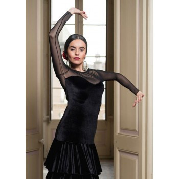 Flamenco Top Madine Black...