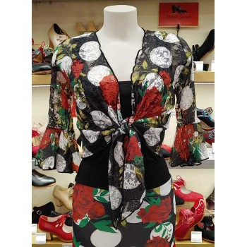 Cardigan Flamenco Dentelle...