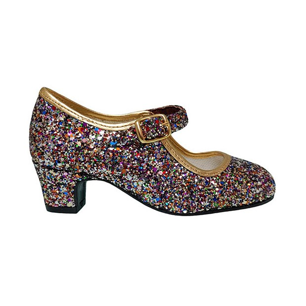 Multicolored Glitter...