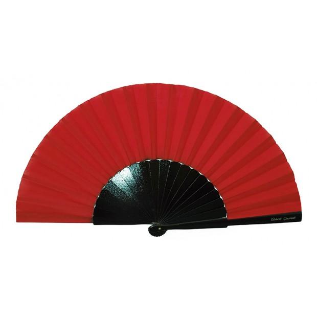 Abanico Pericón Negro Rojo...