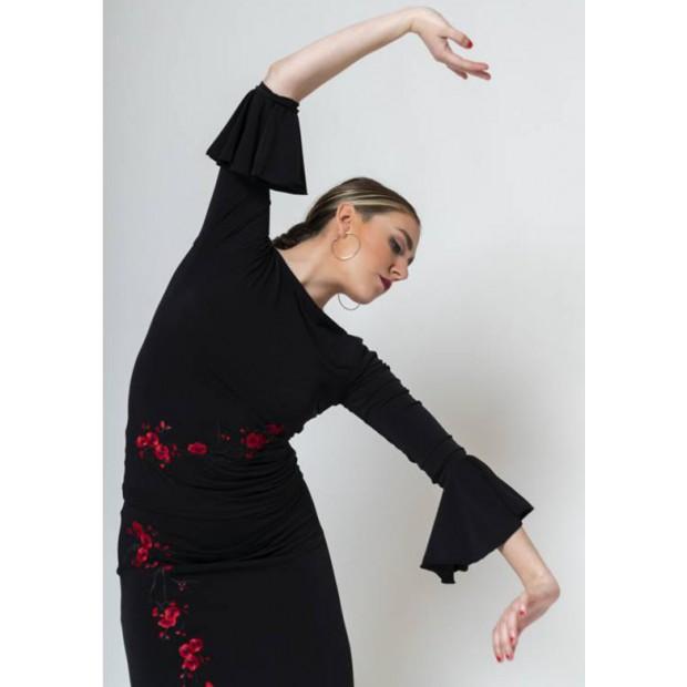 Top Flamenco Noir Avec...