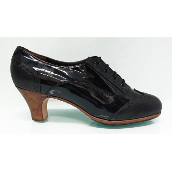 Black Patent Leather and...