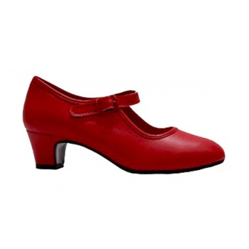 Chaussure Flamenco Rouge...