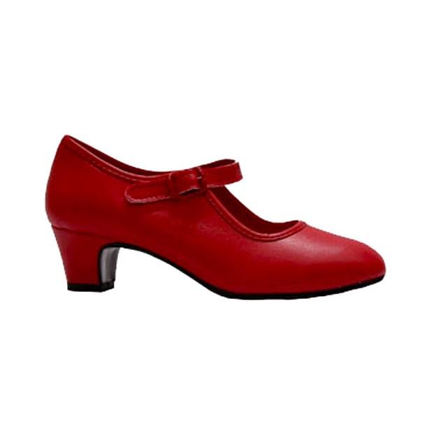 Zapato de Flamenca Polipiel...