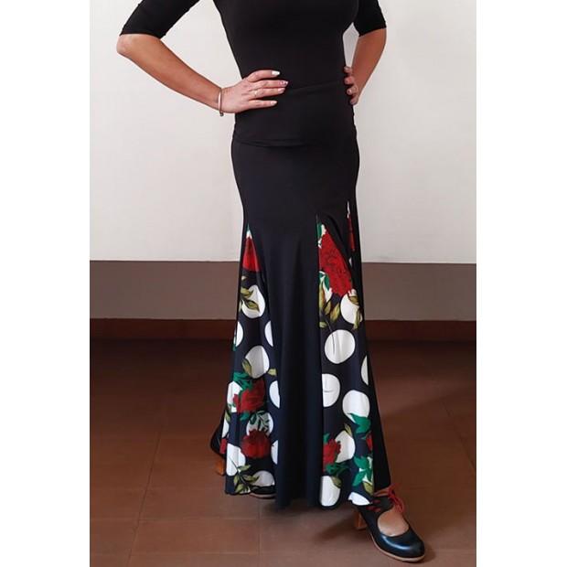 Black Flamenco Skirt and...