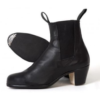 Black Leather Dancing Boot 35/46