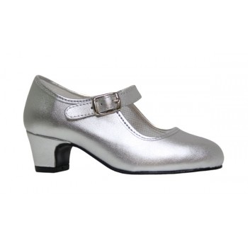 Flamenco Silver Leatherette