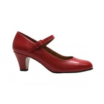 Chaussure de flamenco Cuir...