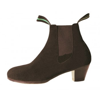 Professional Flamenco Boot Suede Brown
